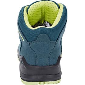 Lowa Innox Evo GTX Multifunction Shoes Low Quartercut Kids petrol/mint